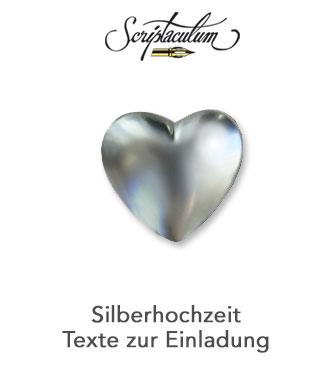 1386 71054 Einladungskarte Silberhochzeit Spruch