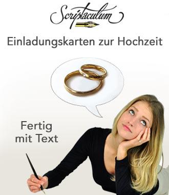 Hier Können Sie Karten Zur Einladung Für Die Hochzeit Selbst Gestalten.  Kostenlos Die Vorgeschlagenen Einladungssprüche Und Gedichte Als Text  Verwenden Und ...