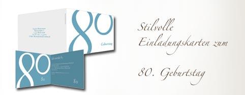 Einladungskarten 80 Geburtstag   Einladungskarten Ideen, Einladungs.  Scriptaculum, Einladungs